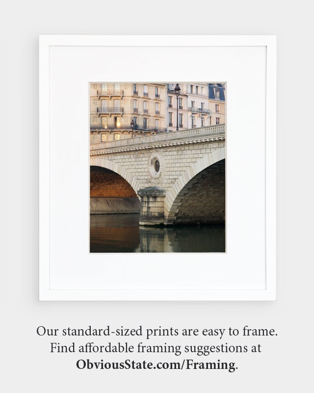 "Paris Print, ""Under the Bridge"" Extra Large Wall Art, Paris Photography Art Print, Oversized Art, Fine Art Photography Paris Decor"