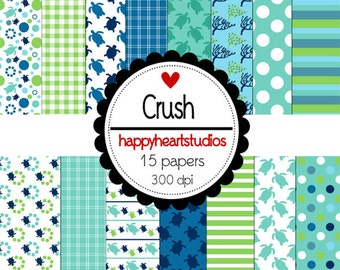 Digital Scrapbook  Crush-INSTANT DOWNLOAD