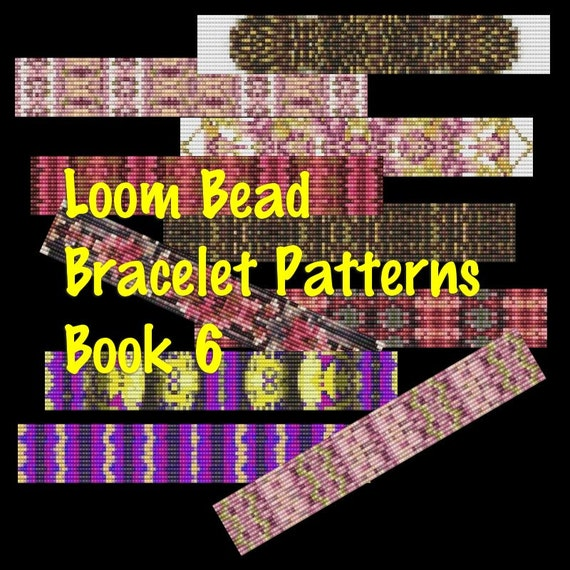 Beading Patterns, Loom Beading Patterns, Bracelet Patterns, Bead Patterns, Jewelry Patterns, Loom Jewelry Patterns, Seed Bead Patterns