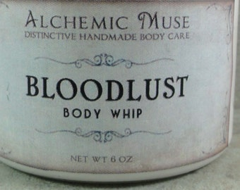 Bloodlust - Body Whip - Dragon's Blood, Incense, Blood Orange - Autumn Limited Edition