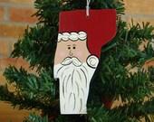 Vermont Santa Ornament