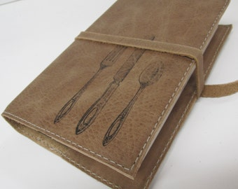 personalized leather journal or sketchbook free customization