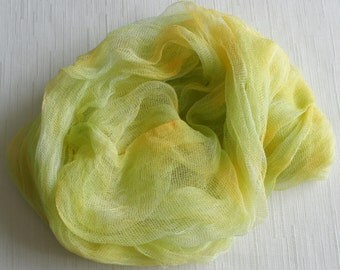 Newborn  Cheesecloth, Newborn Wrap Photography Prop, Lemon Yellow Cheesecloth, Baby Wrap, Newborn Photo Prop, Newborn Cheeseclth Wrap