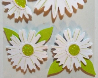 TRULIVING 3-d Die Cuts - Scrapbook Embellishments - Flowers