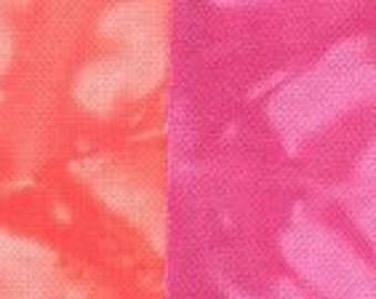 Starr Design 8 Pack Fat Quarters Mardi Gras Hand Dyed Cotton Fabrics