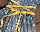 Whoopsie Daisy Retro Print Girls Dress etsykids team