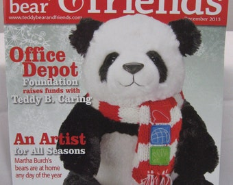 Teddy Bear and Friends Magazine December 2013 Issue
