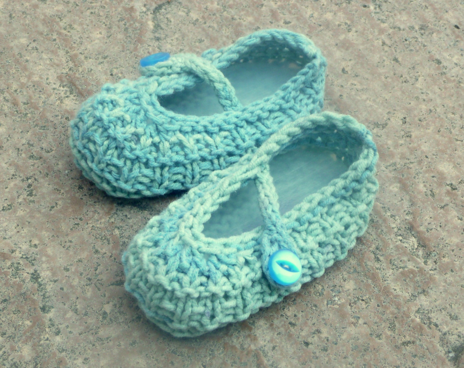 Knitting Pattern Baby Sandals : Knitting Pattern Baby Booties Ocean Beach Baby Shoes Sizes
