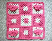 ON SALE - 3D Butterfly Doll Blanket in Pink