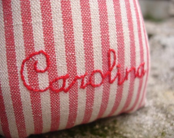 Custom Name/ Personalization/ Hand-Embroidery