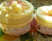 Lemon Curd and Rose Milk Sugar Scrub, 8 plus ounces, Made with real Lemon Butter and Shea Butter