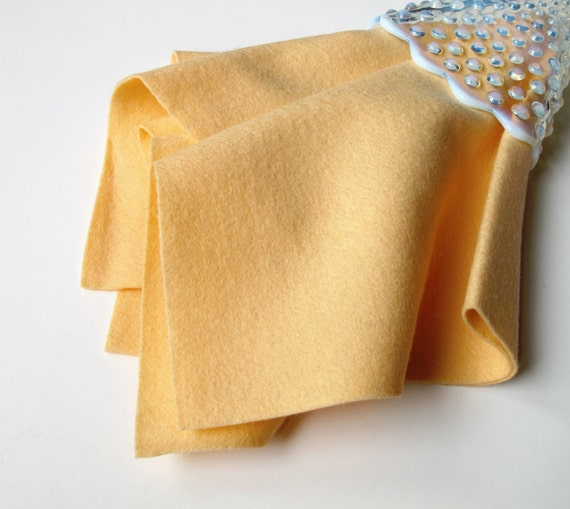Apricot Felt, 100% Merino, Wool Felt Sheet, Choose Size, Felt Toy Fabric, Doll Supply, Waldorf Handwork, Nonwoven, Toxin Free Felt, DIY