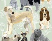 Dog Portraits Archival Art Print - augustwren
