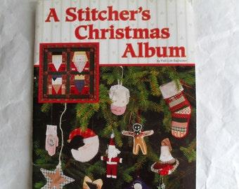 A Stitcher's Christmas Album Book of Ideas