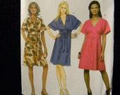 Uncut Butterick Pattern 5640 Size 8-14 Easy Dresses