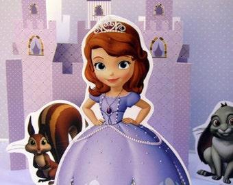 Princess Sofia Printable Cake Topper