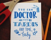 Nerdy Neon - Doctor My Tardis