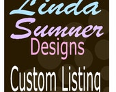 Custom Listing for Stepahnie B