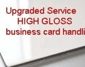 GLOSS Upgrade Business card handling fee