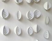 Leaves - 3D Wedding Garland - Home Decor - Photo Prop - Choose Your Colour