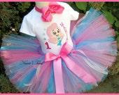 Birthday  Bubble Guppie, Party Outfits,Theme Party,Birthday Tutu Sets,Personalized,Photo Shoot  Sizes 1yr thr5yrs