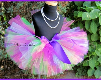 Tropical Garden, Tutu, Birthday, Parties, Photo Shoots, Gift, Dress Up in sizes to 6yrs