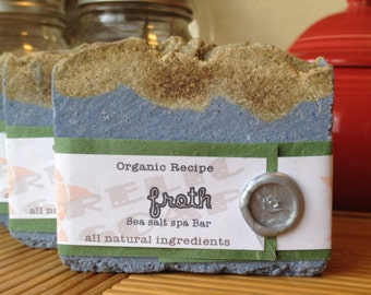 Froth Organic Sea Salt Spa Artisan Soap