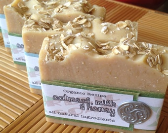 Any 4 bars for 20 - Mix and Match - Organic Artisan Soap