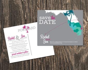 Delray Beach Florida - Save the Date - Destination Wedding