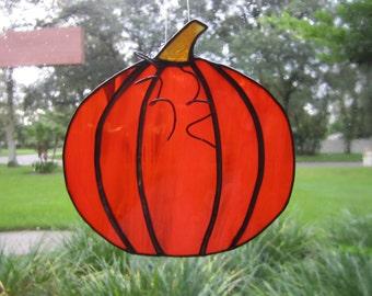 Pumpkin Halloween Suncatcher