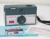 Vintage Green Kodak Hawkeye R4 instamatic camera outfit - Vintage Camera - Photography