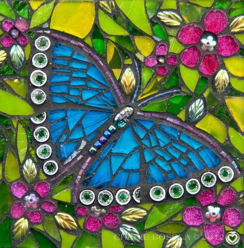 Blue Beauty 8x10 Matted Gicl 233 E Fine Art Print