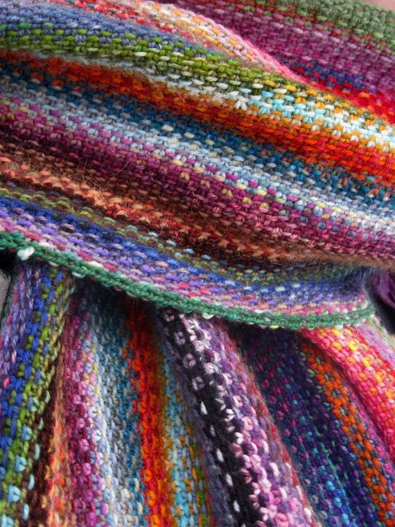 Mini Mania Scarf Free Knitting Pattern Digital Pdf By