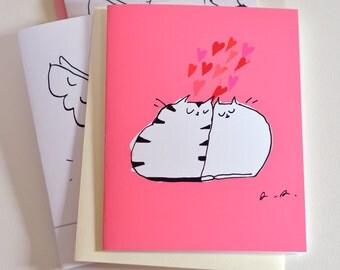 Lovahs - Cat Card - Love You Card