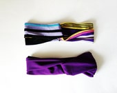 Turban Headband, Purple Haze Set, Turban Set, Headband Set, Gift for Teen Girls, 2 Pack