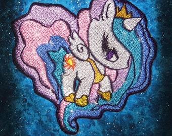 Princess Celestia My  LIttle Pony Patch  Iron on Patch