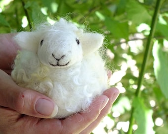DIY  Fun and Easy Needle Felted Sheep Kit