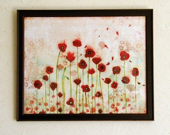 Limited Edition Print - Poppies 3/30