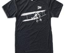Mens Vintage PLANES t shirt american apparel S M L XL (17 colors available)