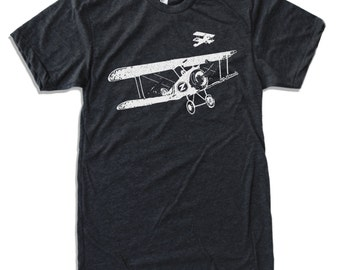 Mens Vintage PLANES t shirt s m l xl xxl (+ Color Options)