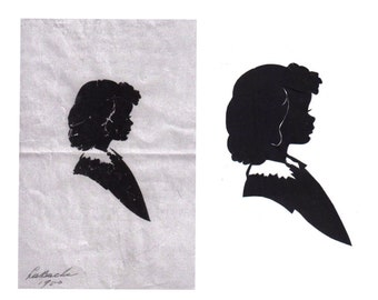 Silhouette Restoration (Damaged Over Time)