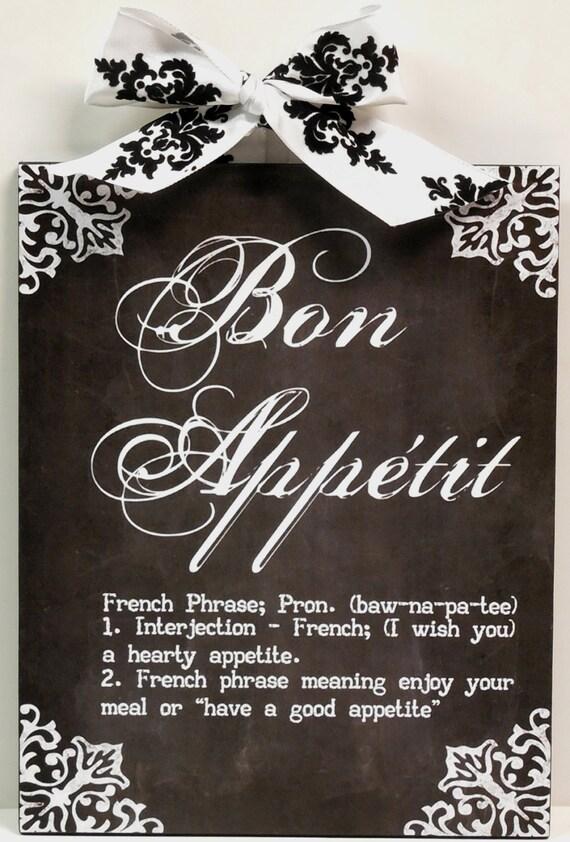 French damask definition of bon appetite by nikkissecretcloset - Plaque de finition ...