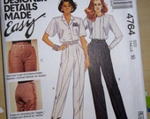"McCalls Pattern 4764 - Misses pants fitting package.  ""The Perfect Trouser"" pattern by Palmer Pletsch  Size 16"
