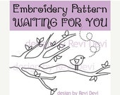 Embroidery Pattern - Waiting For You 15037 - Downloadable PDF