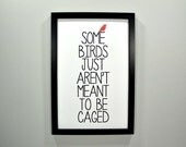Some Birds... FRAMED Print