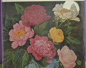 Vintage 1975 Flower Embroidery Book by Allianora Rosse Designs for Embroidery, Crewel, and Cross-stitch
