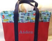 Custom Kids Activity Bag - Great Flower Girl/Ring Bearer/Wedding Attendant Gifts