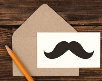 Mustache Mini Enclosure Card