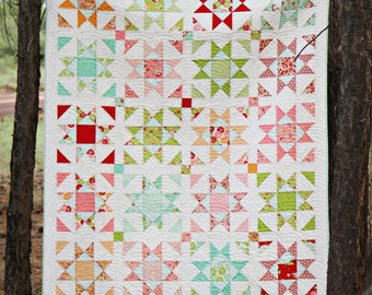 "Paper Pattern for ""Shine"" Quilt"