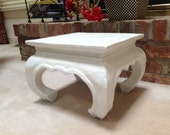 Reserved for Sylvia - Stool or Plant Stand, Unfinished